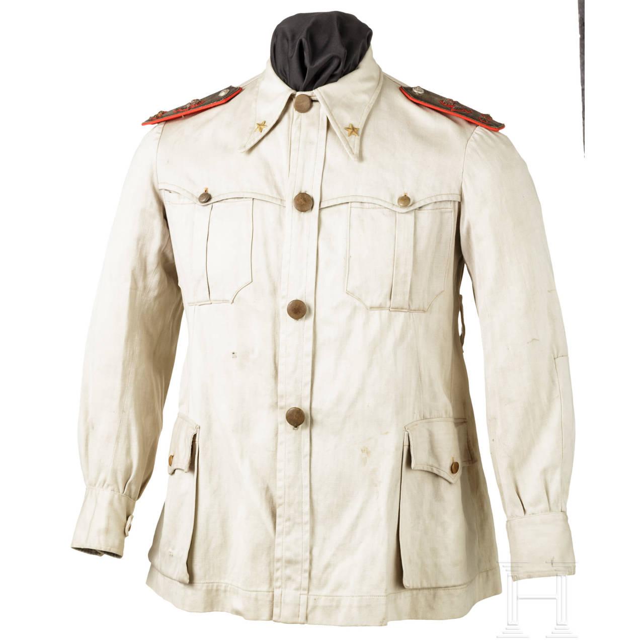 Tropenfeldbluse für Generale im 2. Weltkrieg
