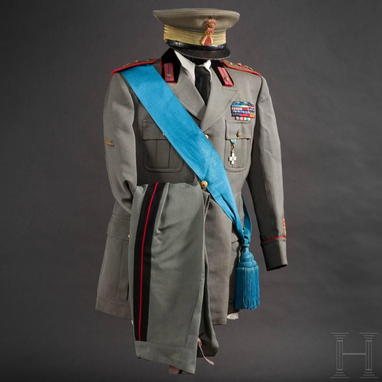 "Uniform M 34 für Oberst Zacco, Kommandeur des 84. Infanterie-Regiments ""Venezia"", 2. Weltkrieg"