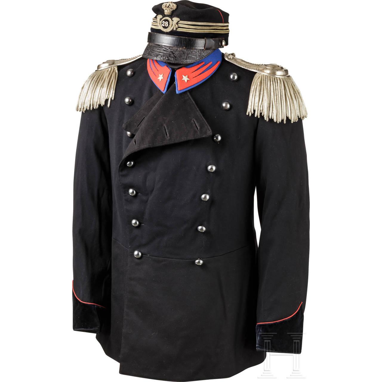 Uniform für Offiziere der leichten Kavallerie, 1. Hälfte 20. Jhdt.