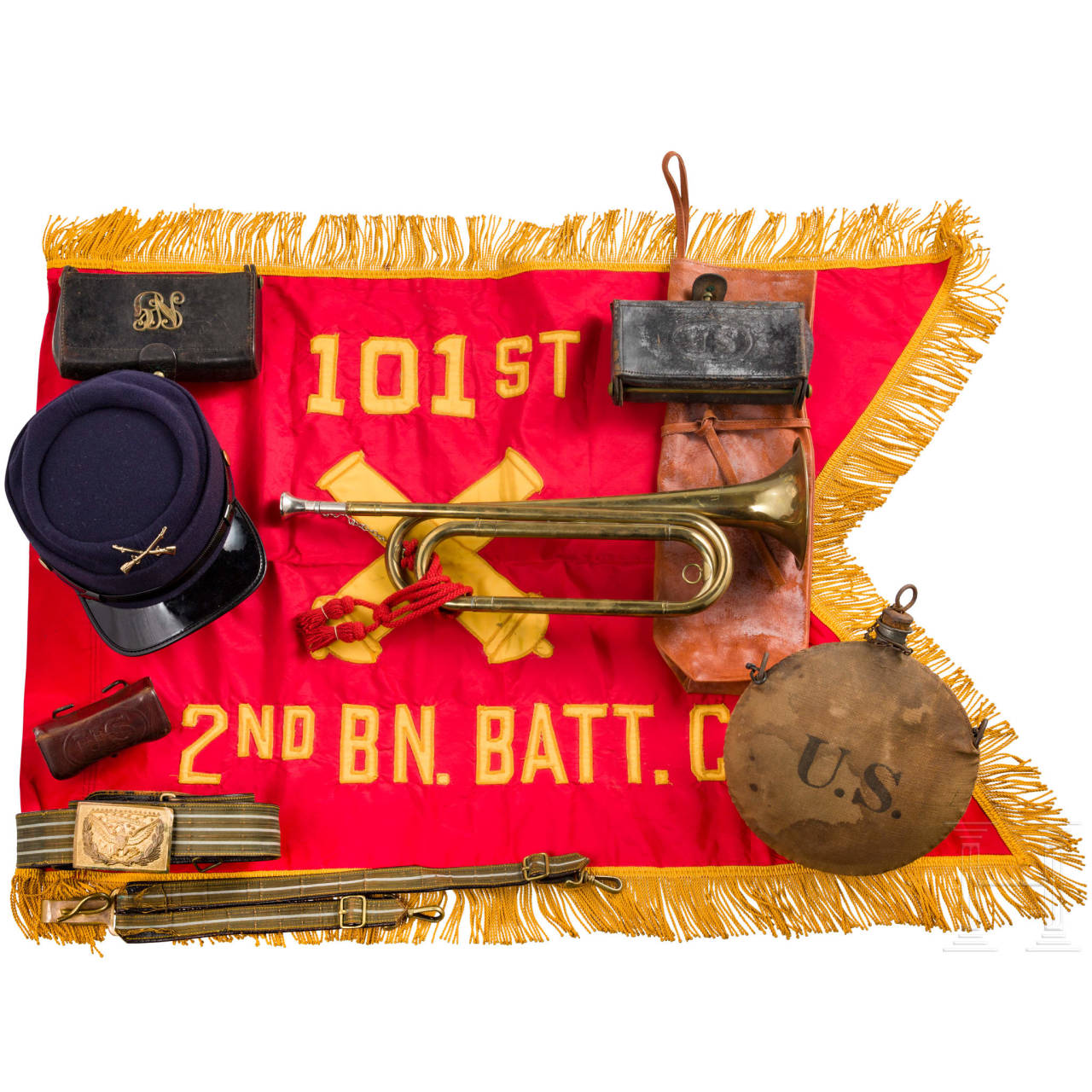 A collection of US-militaria, 19th/20th century