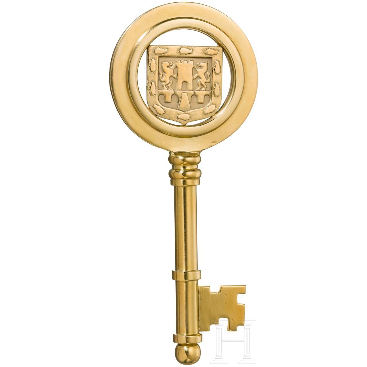 An honorary key of Mexico City, circa1950 - 1960