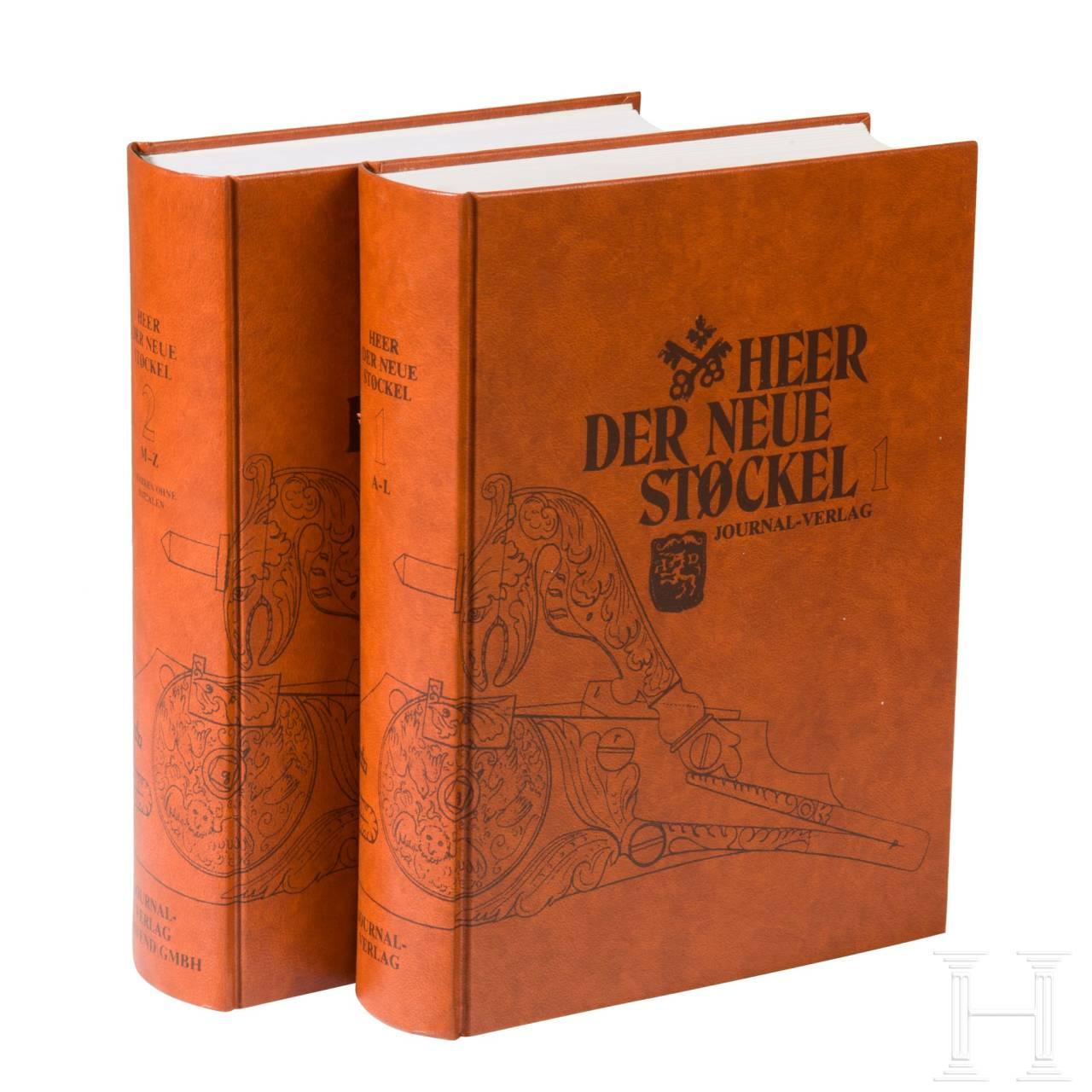 """Eugène Heer, """"Der neue Stöckel"""", zwei Bände"""