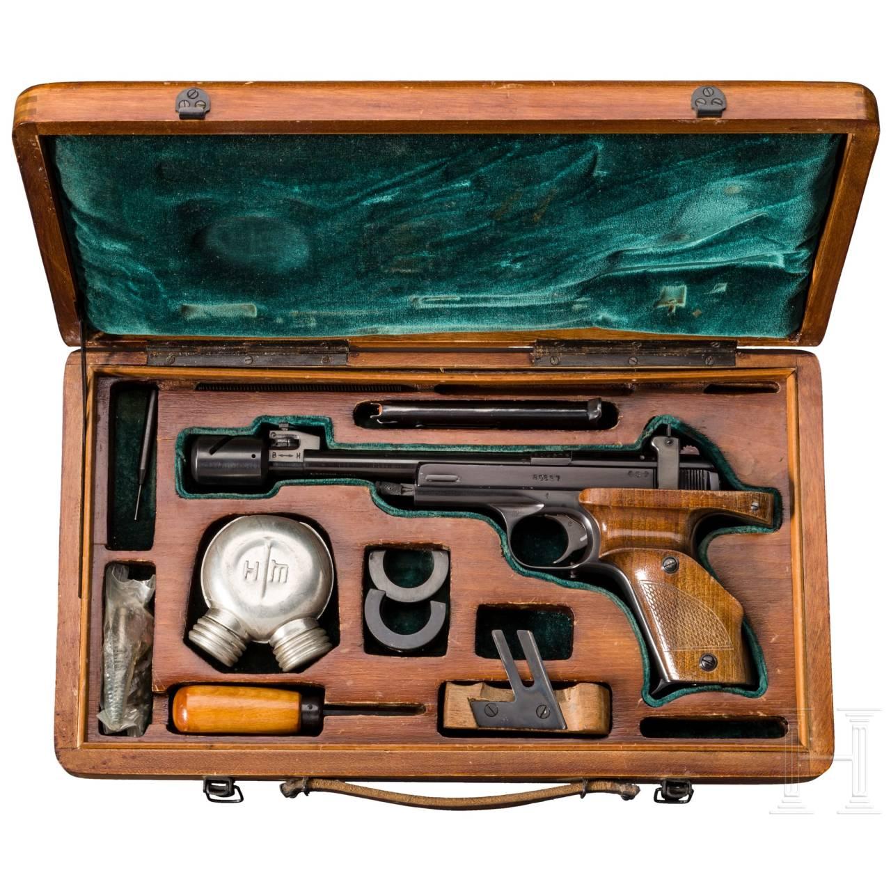 Sportpistole MCM Margolin, im Koffer