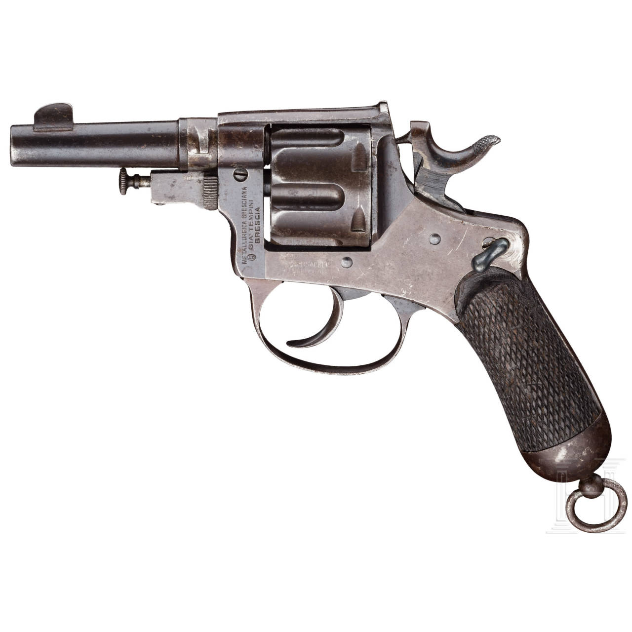 Glisenti-Bodeo Mod. 1889/1922, mit Tasche