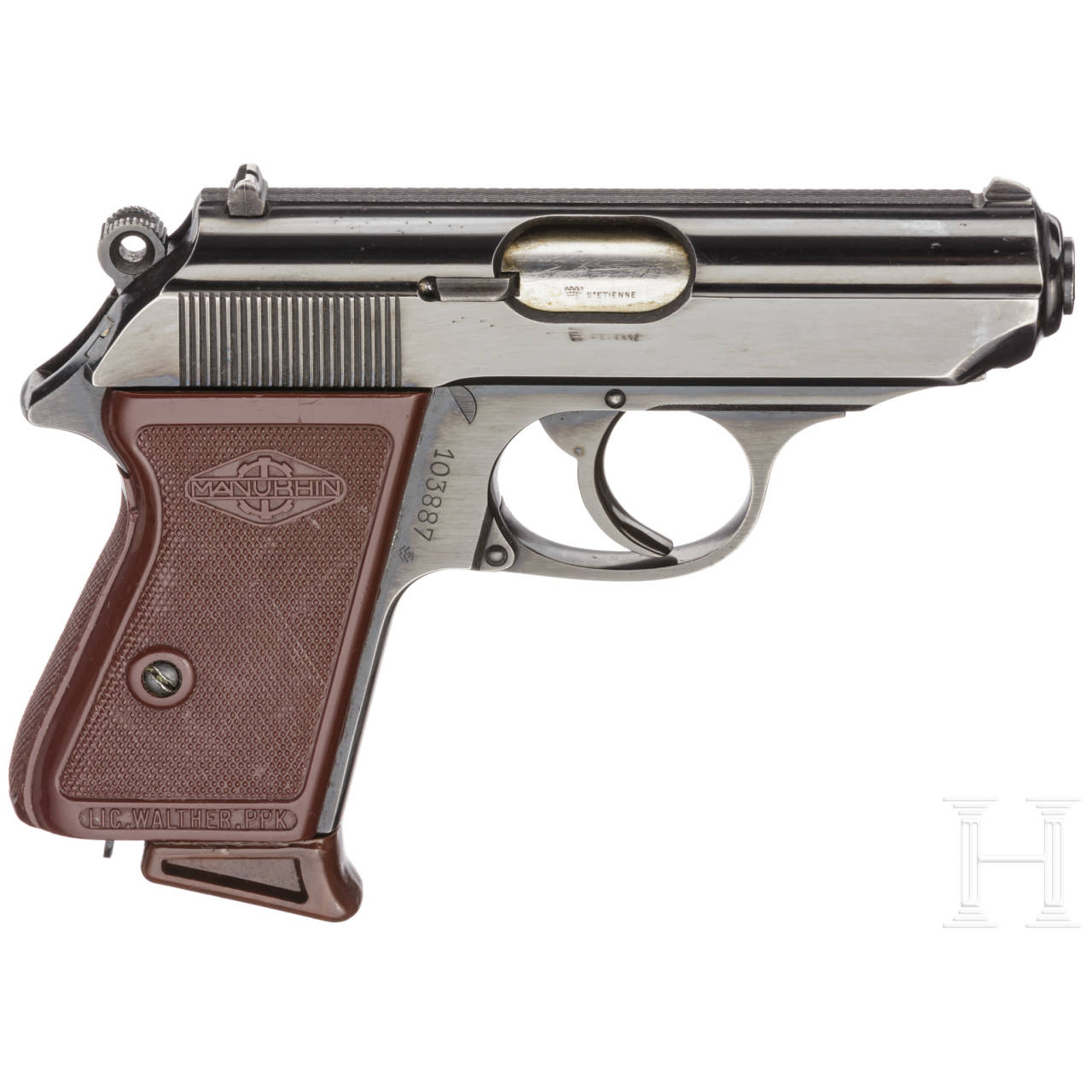Walther-Manurhin PPK, Zoll, im Karton