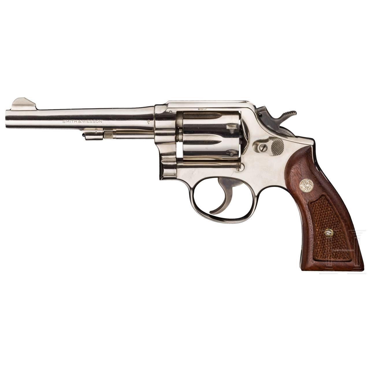 Smith & Wesson Mod. 10-5, vernickelt, Polizei