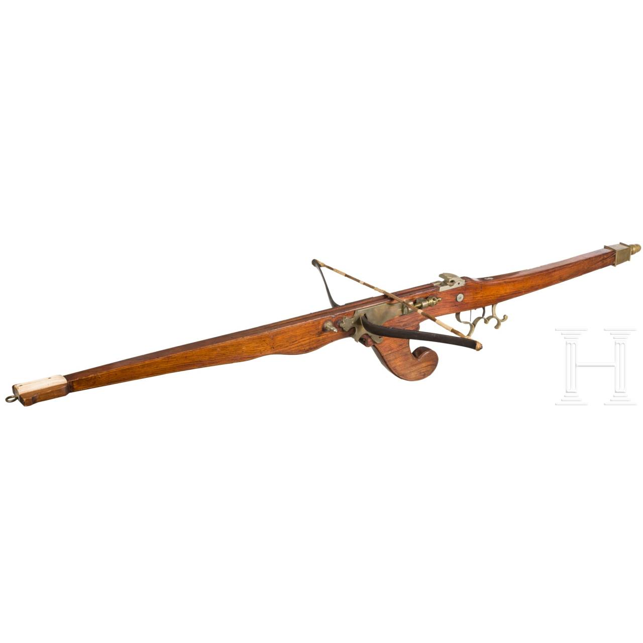 A Belgian/French target crossbow, circa 1900