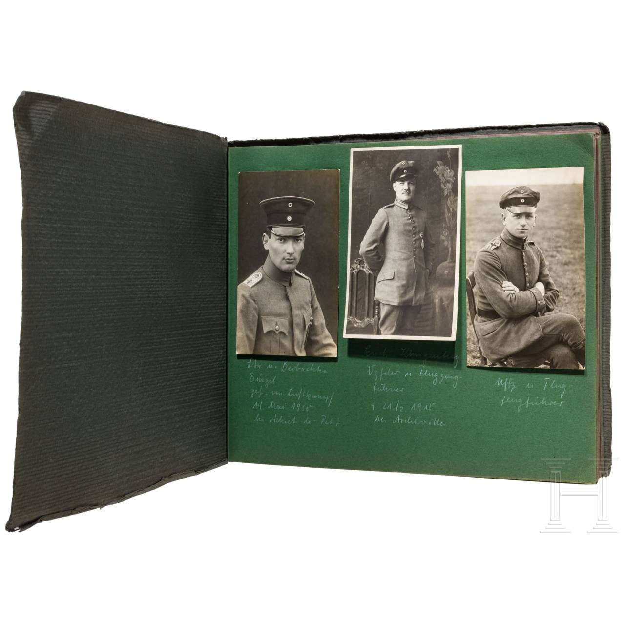 Fotoalbum der Fliegerabteilung 235 (Artillerie) an der Westfront 1917/18