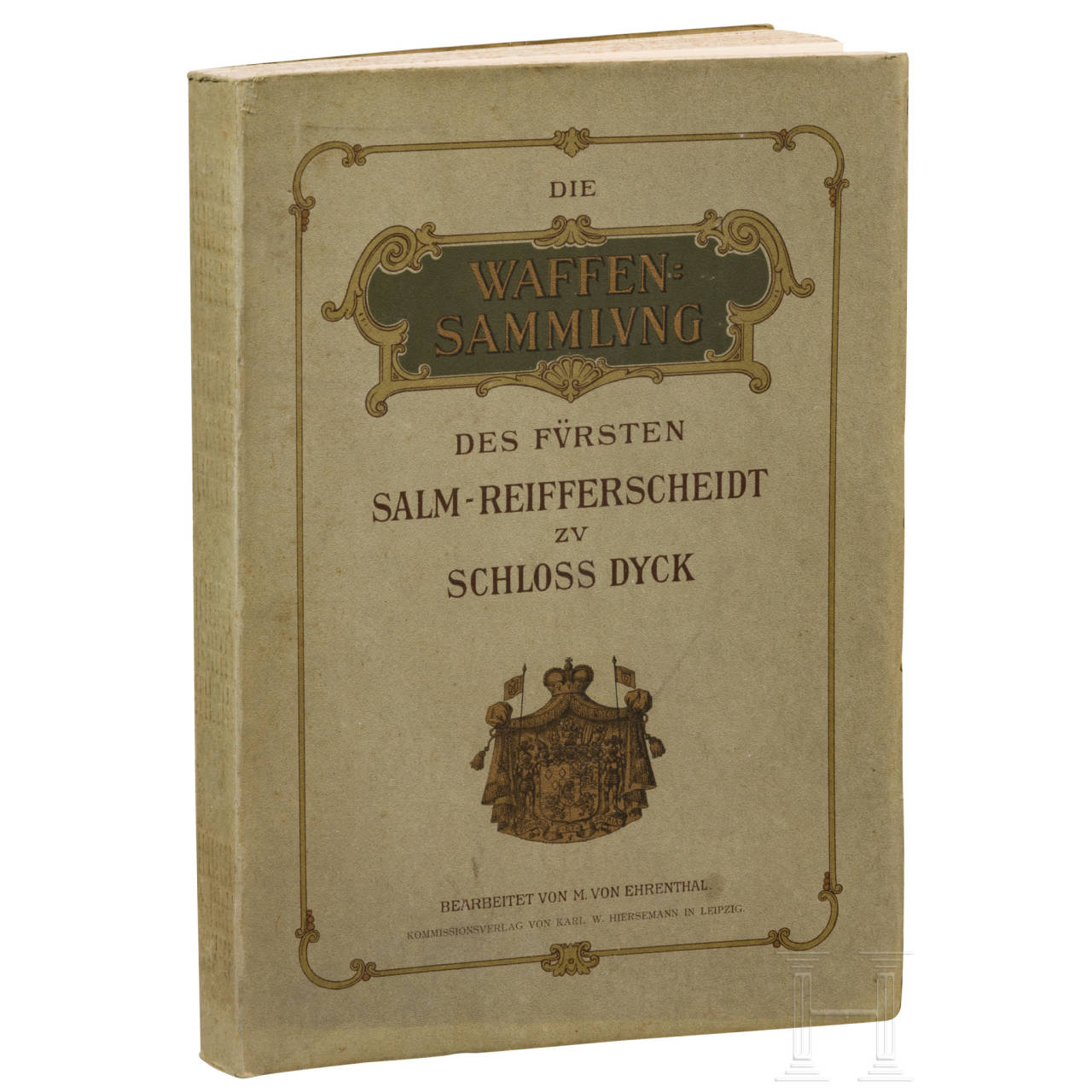 "Ehrental, M. von, ""The Salm-Reifferscheidt arms collection on Dyck Castle"" (in German), Leipzig, 1906"