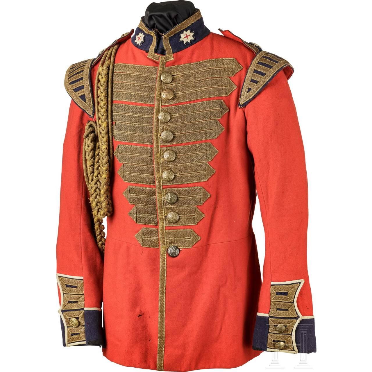 Uniformrock für Angehörige der British Army, 19. Jhdt.