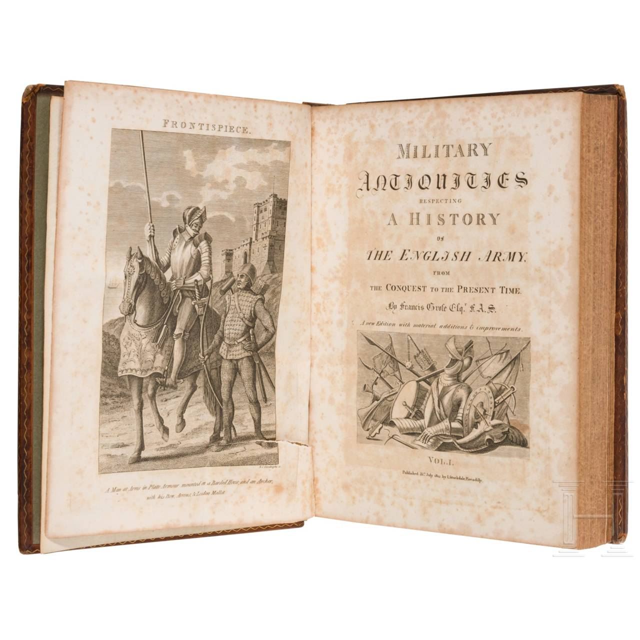 """Military Antiquities - Respecting a History of the English Army"" von Francis Grose"