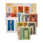"""22 Ausgaben """"De Wapenverzamelaar- Tijdschrift van de Vereniging Nederlandse Wapenverzamelaars"""" von 1965 bis 1988"""