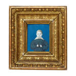 Miniatur-Knabenportrait, deutsch, um 1830/40