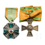 Order of the Zähringer Lion - Knight's Cross 2nd class and Cross of Merit