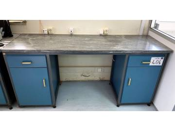 Outstanding Marble Topped Steel Framed Work Bench On Sale Now At Ge Events Pdpeps Interior Chair Design Pdpepsorg