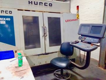 Hurco (2001) VMX40 Vertical Machining Centre on Auction Now