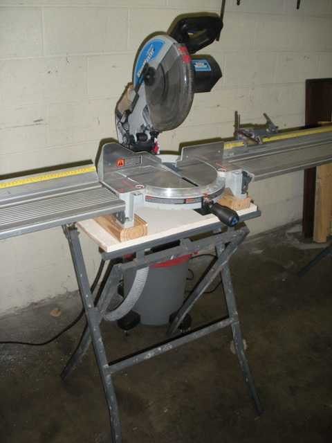 Delta Shop Master Chop saw with 2 each 50