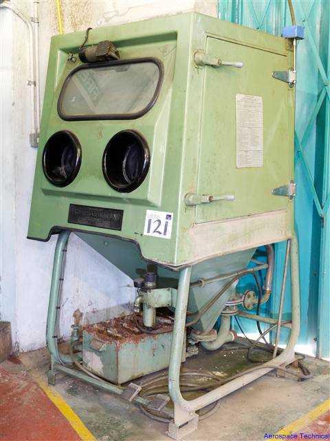 Vaqua Autoflow - Komet Wet Blast - Shot Blast Cabinet on Auction ...