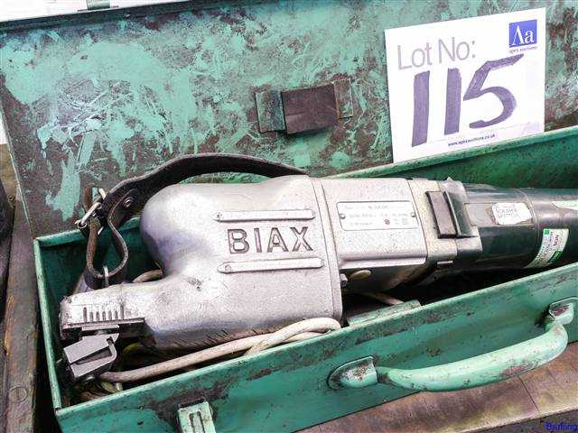 Biax Model BL40 Power Scraper on Auction Now at Apex