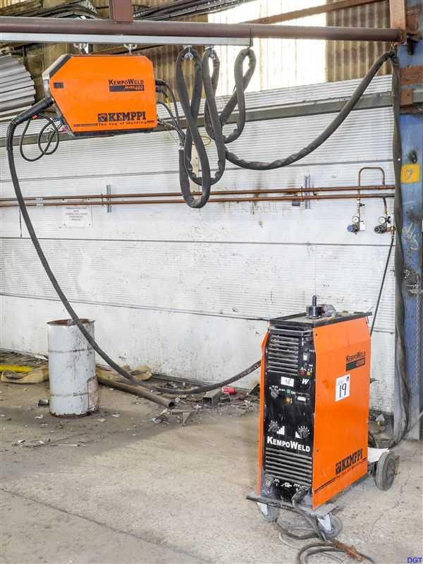 Kemppi KempoWeld 4200W Mig Welding Machine with KempoWeld 400 Wire ...