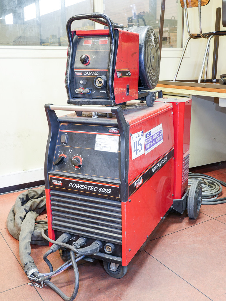 Lincoln Electric Powertec 500S Mig Welding Machine with Lincoln ...