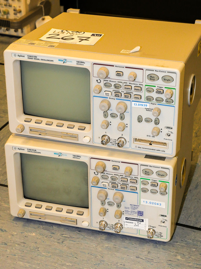 Agilent Type 54622D Mixed Signal Oscilloscope 34622A