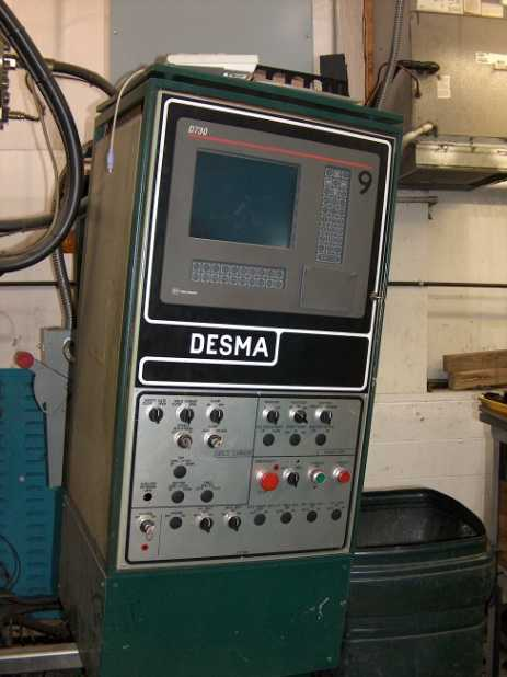 KNOCKNER-DESMA Rubber Injection Molding Machine on Auction Now at