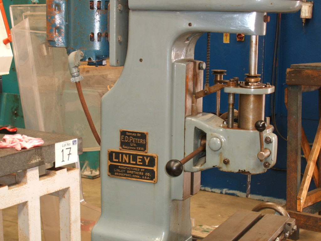 Linley Jig Borer On Auction Now At Apex Auctions
