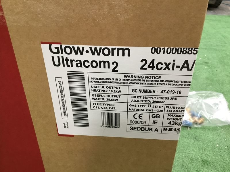 GLOWWORM Ultracom 2 24cxi Combi Boiler on Auction Now at BPI