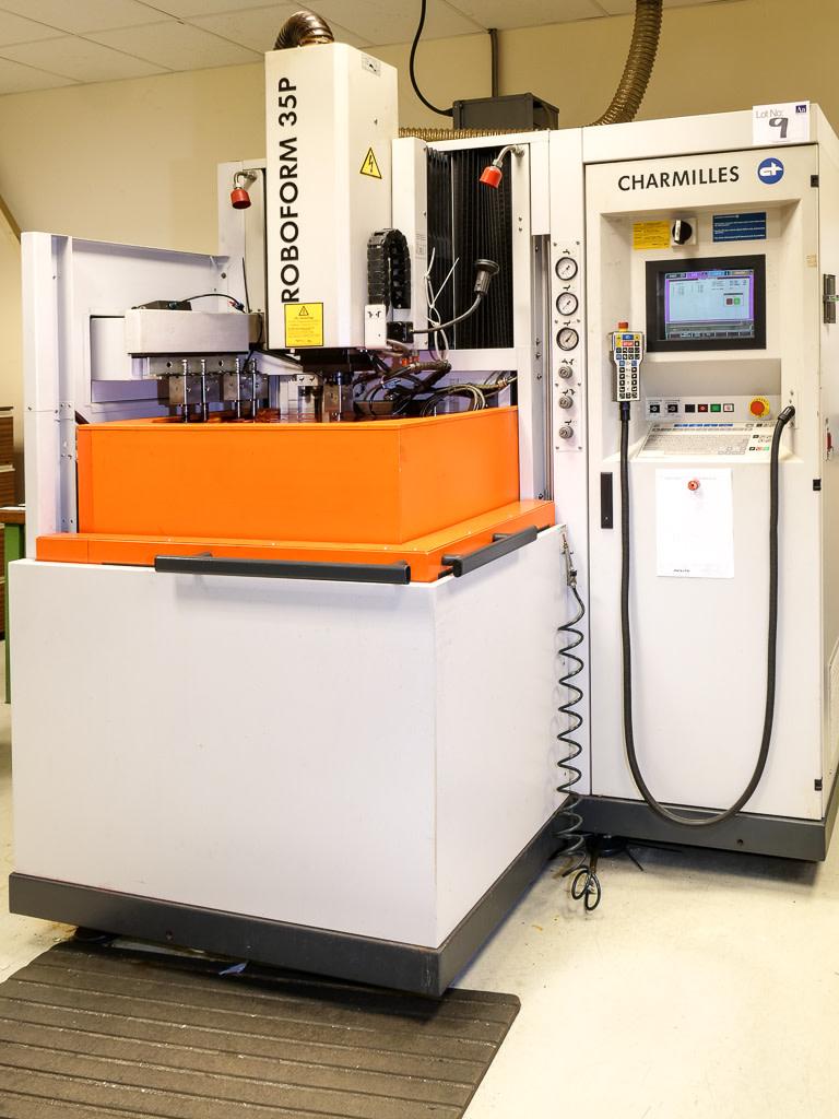 charmilles 2002 model roboform 35p cnc die sink electric discharge rh apexauctions co uk