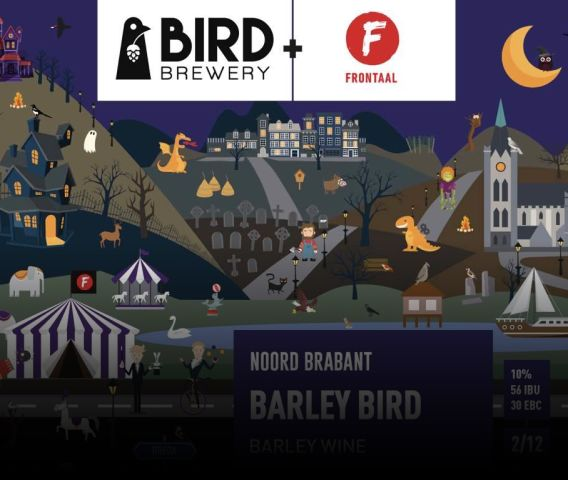 Barley bird frontaal en bird brewery