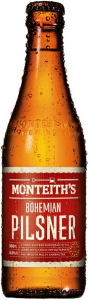Monteiths bohemian pilsner