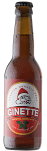Ginette organic christmas ale