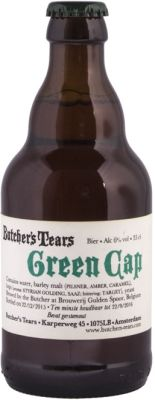 Butchers tears green cap