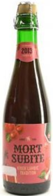 Mort subite kriek lambic tradition