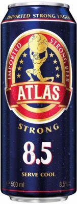 Atlas extra strong beer