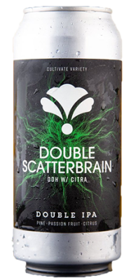 Bearded iris brewing double scatterbrain ddh citra