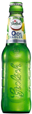 Grolsch radler 0 ice tea citroen