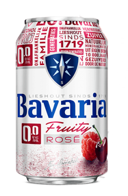 Bavaria 0 fruity rose