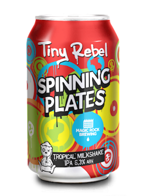 Tiny rebel spinning plates