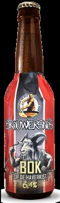 Brouwersnos bok op de haverkist