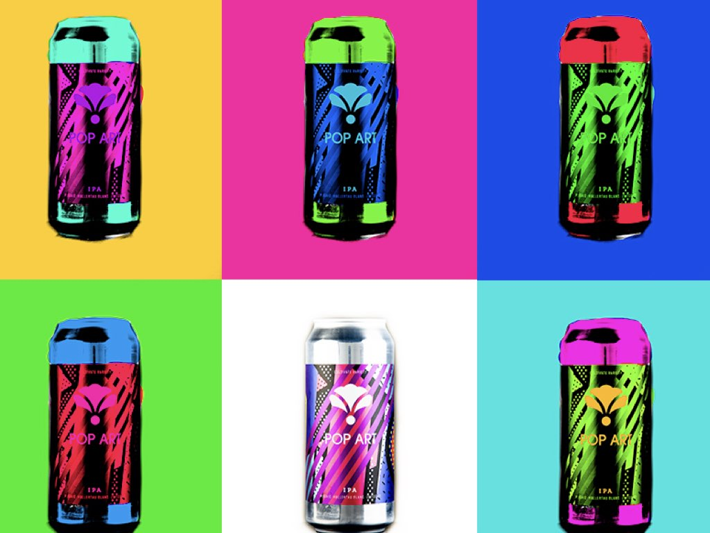 Bearded Iris Brewing Pop Art
