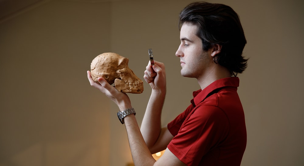 UA Archeology Student