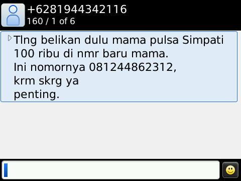 SMS di Onyx