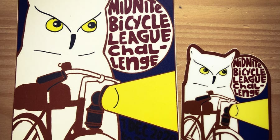 The Midnite Bicycle League Challenge journal