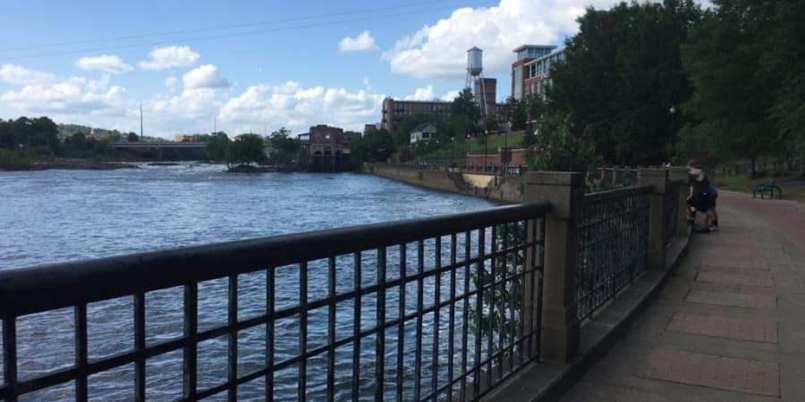 Photograph of the Chattahoochee Riverwalk.