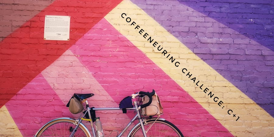 """Coffeeneuring Challenge: C+1"" graphic."