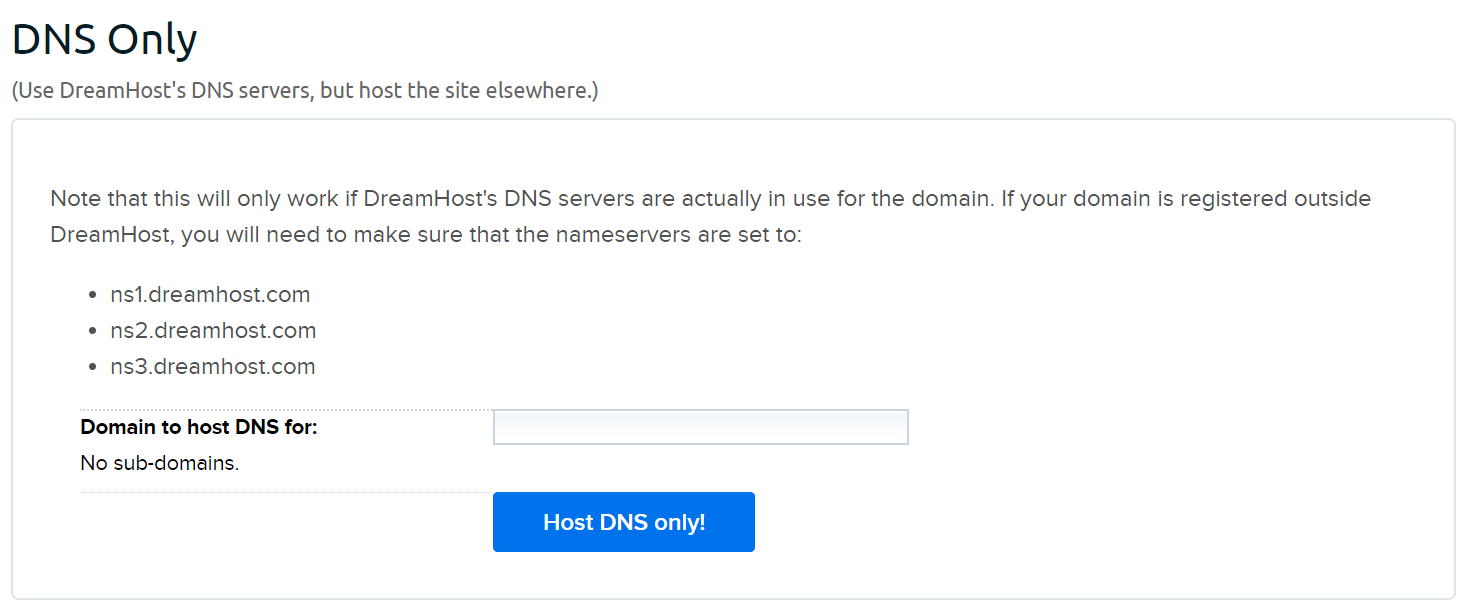 DNS Only