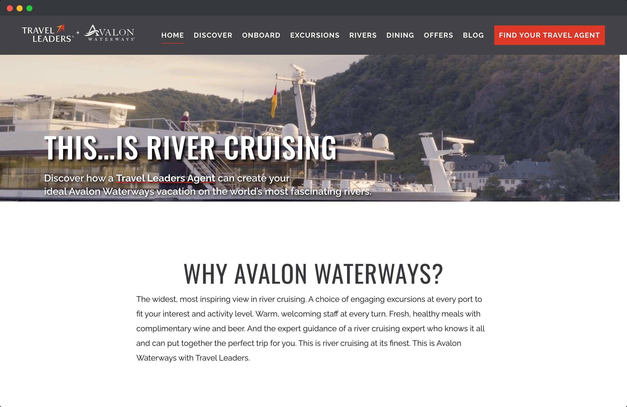 Avalon Waterways: This is River Cruising