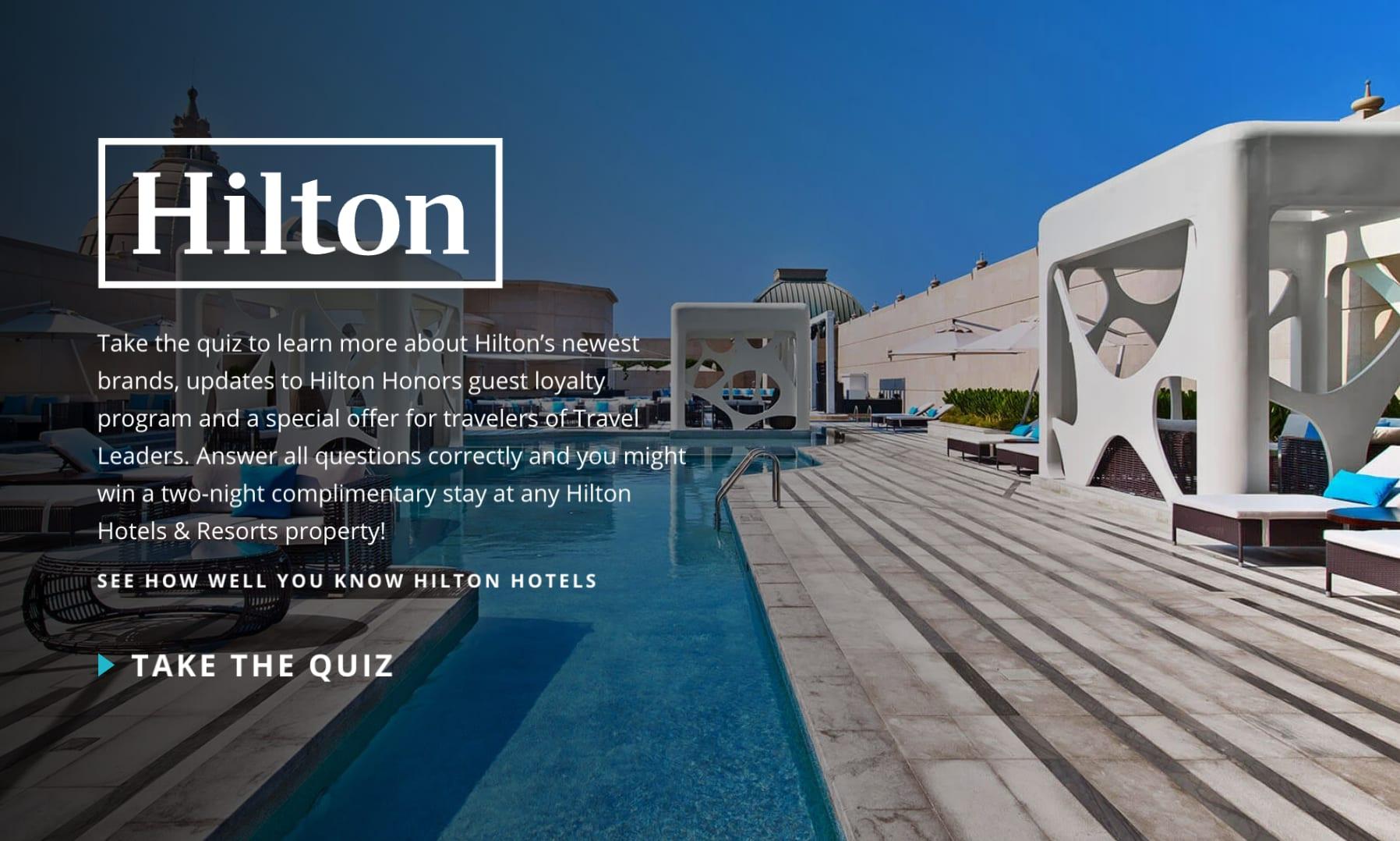Hilton Agent Quiz